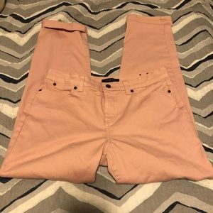 Talbots Simply Flattering blush pink jeans Size 10